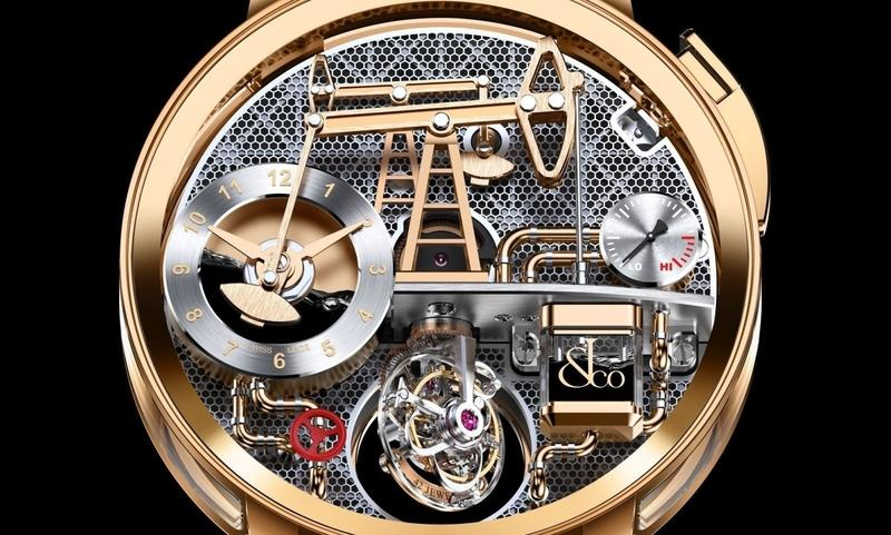 A Jacob & Co. Oil Pump Watch Costs More Than a Ferrari