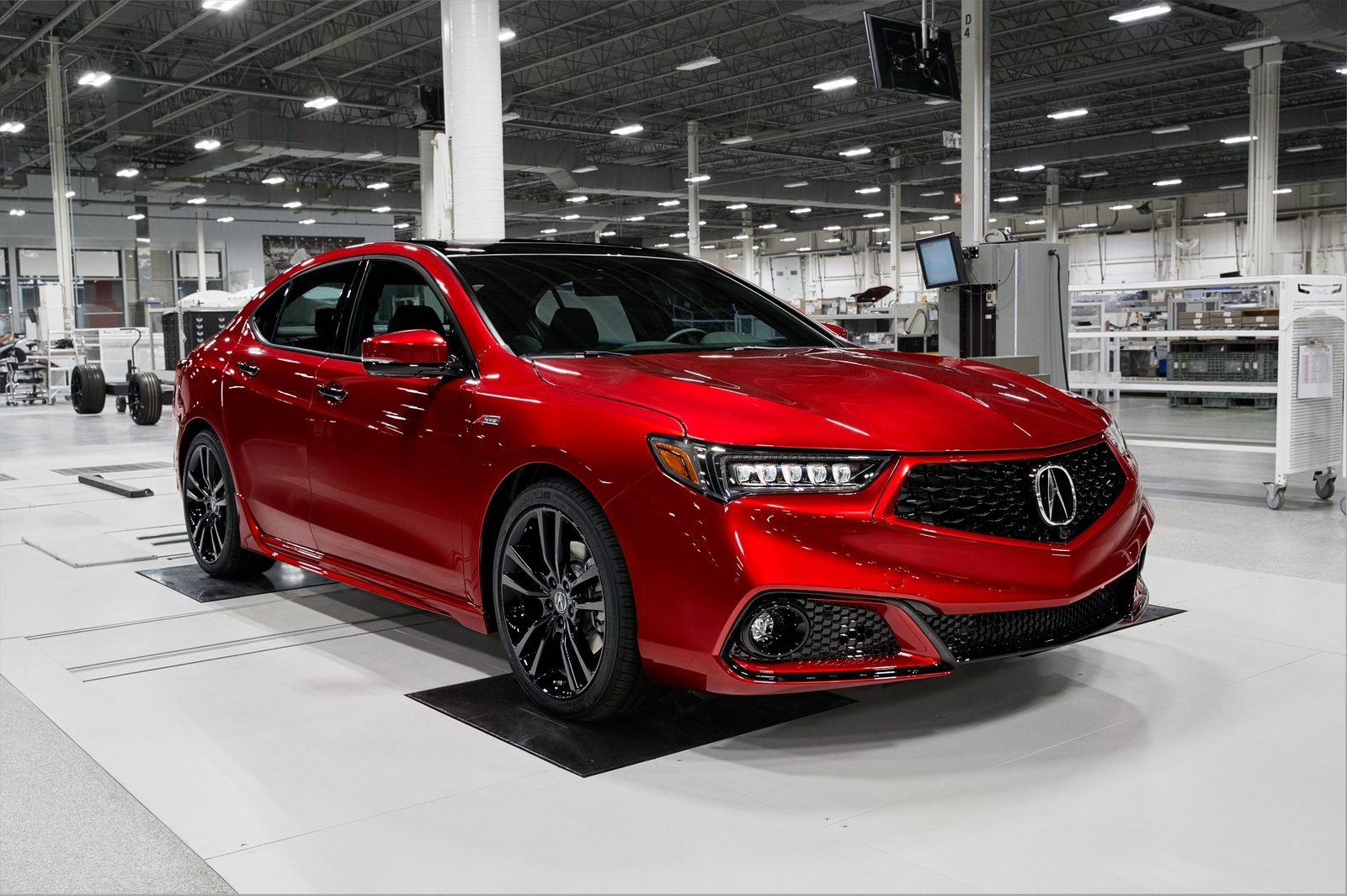 2019 Acura TLX PMC Edition | Top Speed