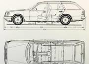 Arrows' Mercedes-Benz W124 Station Wagons Are Begging for a Road Trip - image 838812