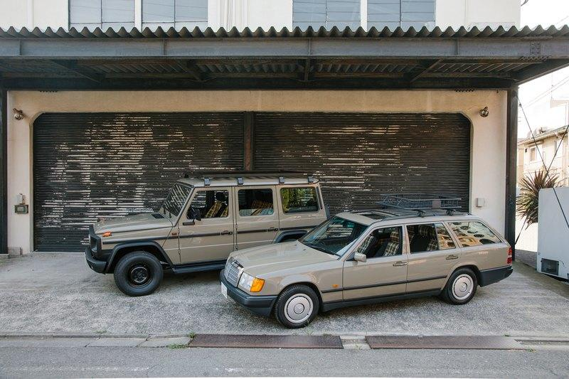 Arrows' Mercedes-Benz W124 Station Wagons Are Begging for a Road Trip