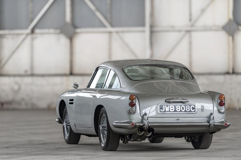 Aston Martin DB5 Continuation Car Gadgets Shown On Video