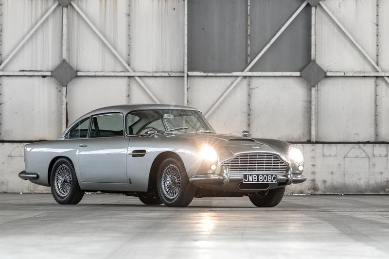 Auction Watch: $1.5 Million Aston DB5 Shooting Brake Built To Allow David Brown To Carry His Dog - image 840175