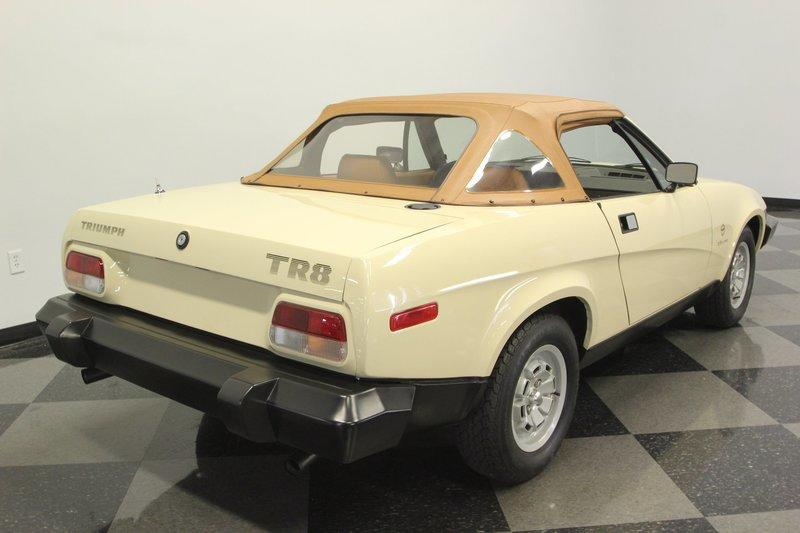 Car for Sale: Practically New 1981 Triumph TR8