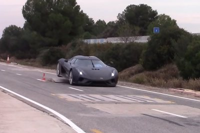 Crash Testing a Koenigsegg is Expensive, So The Company Has a Novel Solution