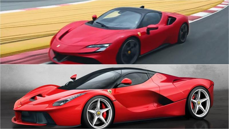 Ferrari Hybrid Showdown: SF90 Stradale vs LaFerrari