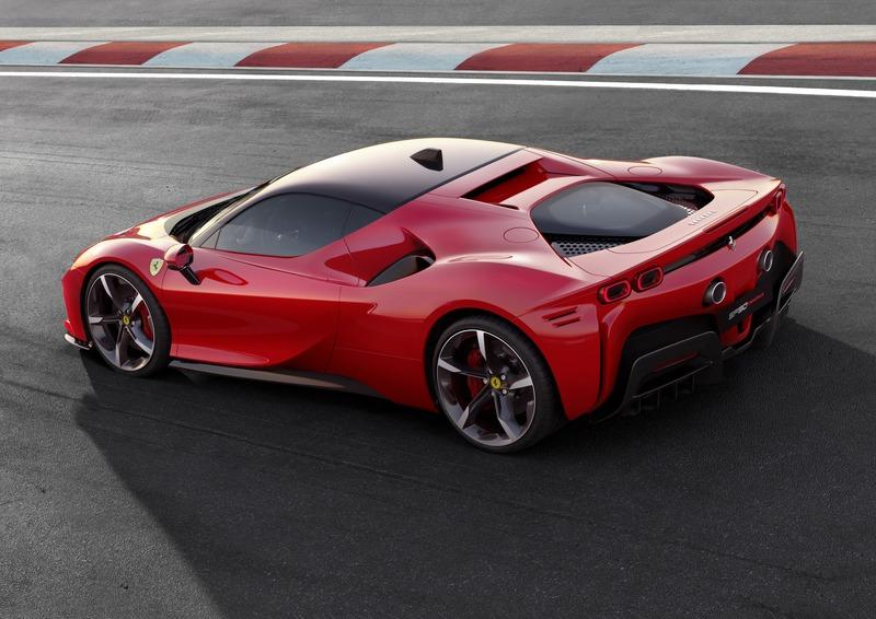 The Ferrari SF90 Stradale Marks Progress and Breaks a Lot of In-House Records Exterior - image 842151