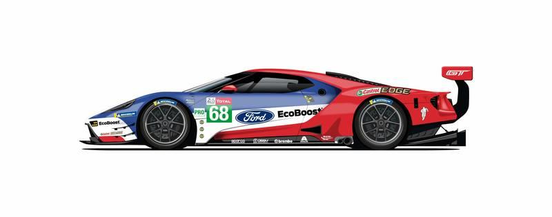 Ford To Race With Historic Liveries For GT's Le Mans Swansong