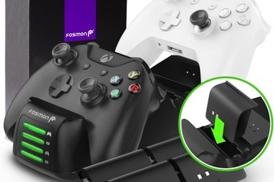 Fosmon's Quad Xbox Controller Charging Station Is Every Gamer's Altar