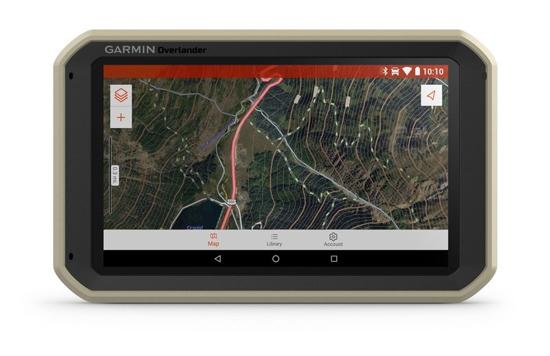 Garmin's New Overlander GPS Lets You Roam The Unknown