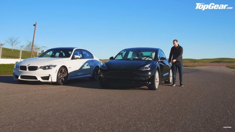 Is a Tesla Model 3 Performance faster around a track than a BMW M3?