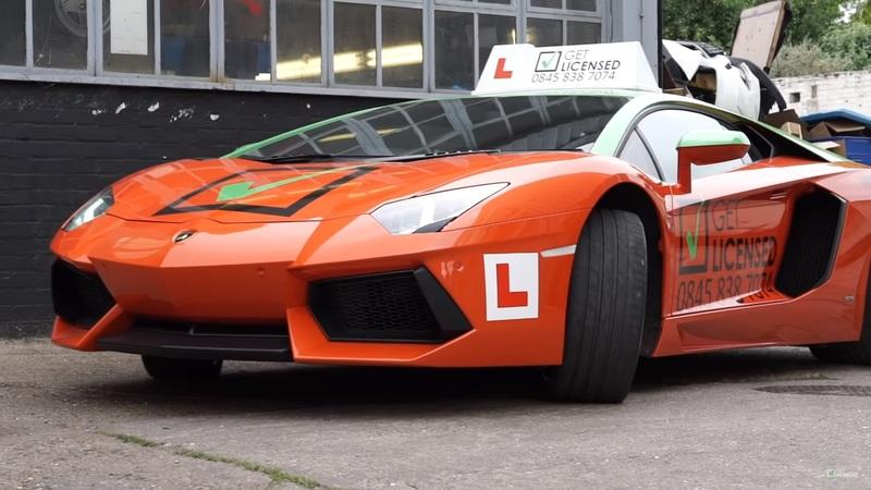 Kids Have It Good These Days - They Can Even Learn to Drive in a Lamborghini Aventador - image 838077