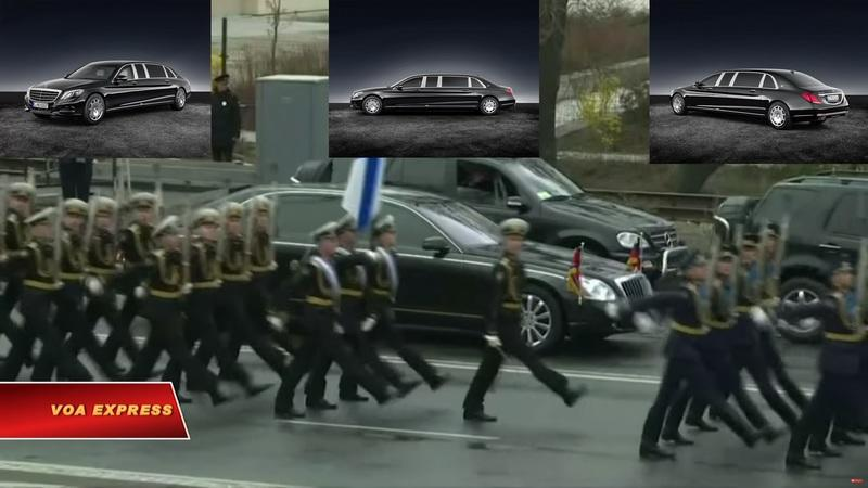 Kim Jong Un Is Rolling Around In Armored Mercedes-Benz Limos but They're Not From Mercedes