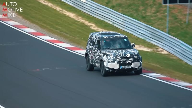 Land Rover Is Working on a Defender SVR and Here's the Proof - image 837946
