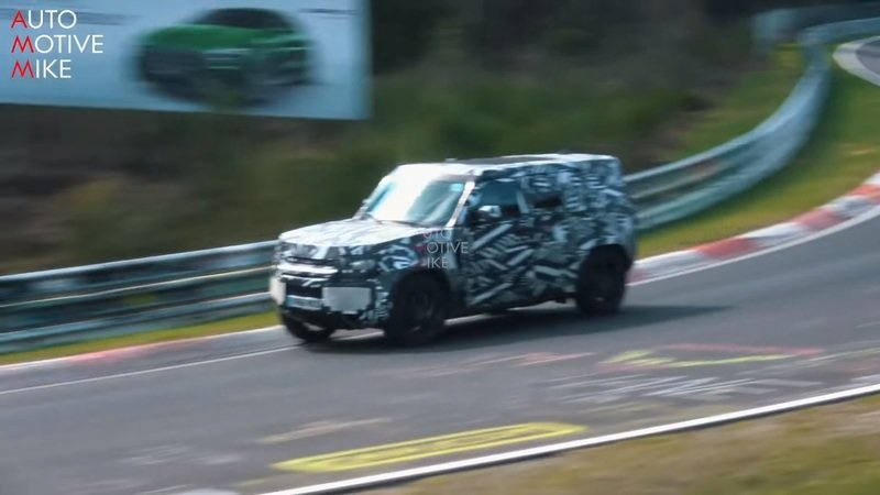 Land Rover Is Working on a Defender SVR and Here's the Proof - image 837939
