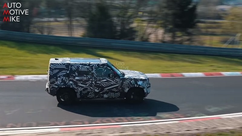 Land Rover Is Working on a Defender SVR and Here's the Proof