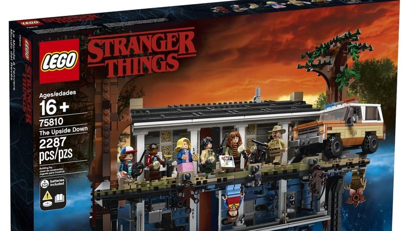 LEGO Made This Stranger Things Set Based On The Netflix Series