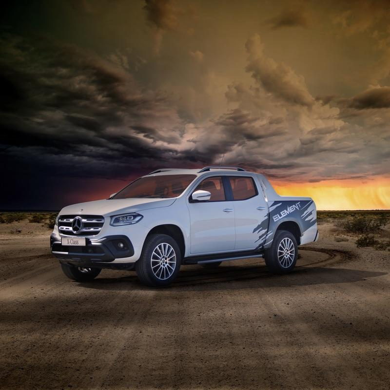 2019 Mercedes-Benz X-Class Element Edition