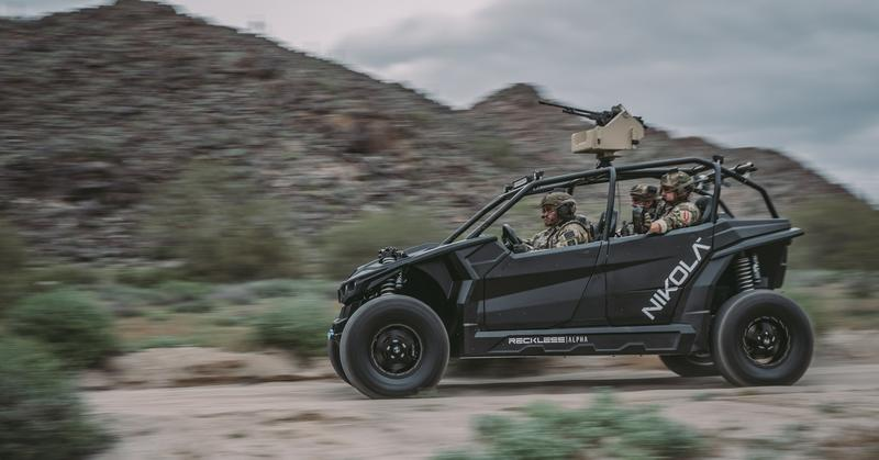 Nikola's Reckless UTV is What Your Drill Instructor Drives On Weekends
