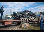 Only in Russia: A Bentley Continental on Tank Tracks - image 839307