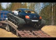 Only in Russia: A Bentley Continental on Tank Tracks - image 839309