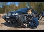 Only in Russia: A Bentley Continental on Tank Tracks - image 839310