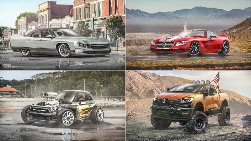 Select Car Shows Us What Europe's Favorite Cars Look Like With Some American DNA