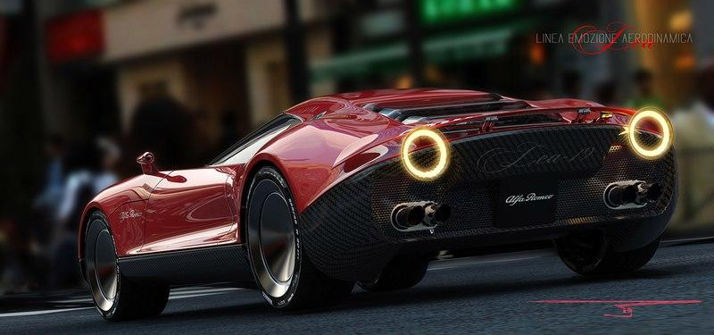 Stunning Visage Of The Alfa Romeo LEA Concept Makes Us Dream