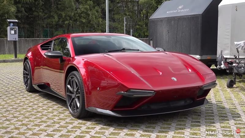 The 2019 Ares Panther Rolls Up At The Concorso d'Eleganza Villa d'Este