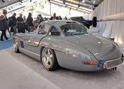 This is not an original Mercedes SL Gullwing, but you can't tell and it packs a modern secret under its hood - image 839819