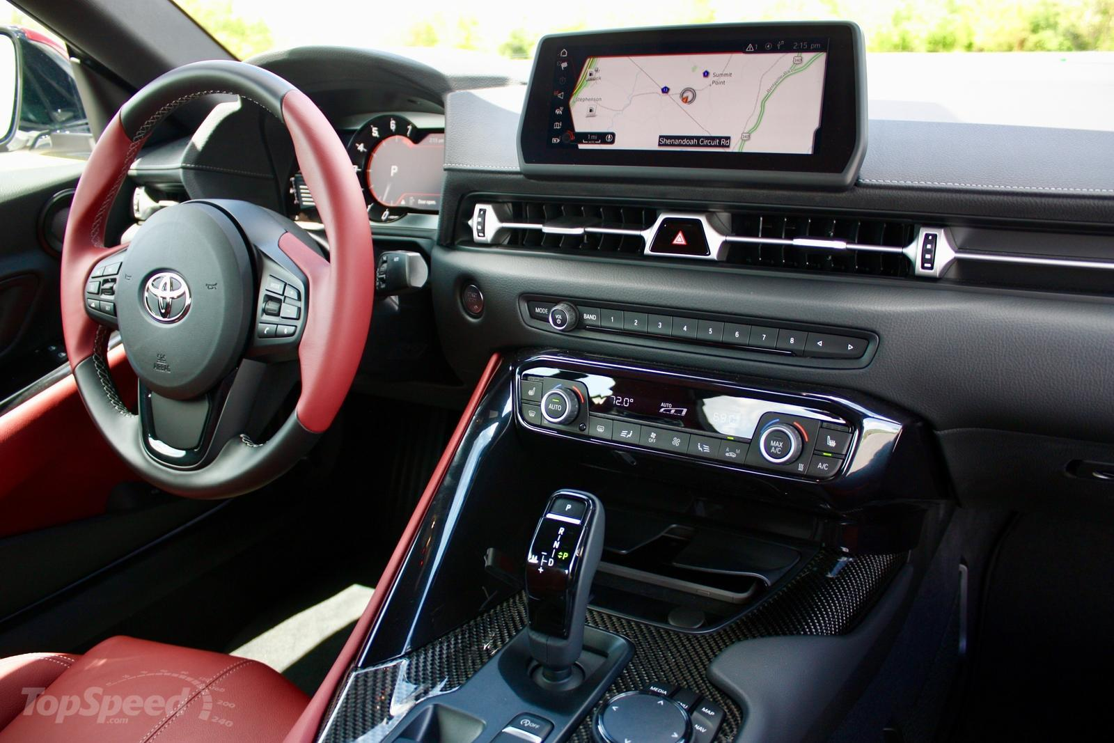 Who Makes Cadillac >> 2020 Toyota Supra Interior First Impressions Pictures, Photos, Wallpapers. | Top Speed