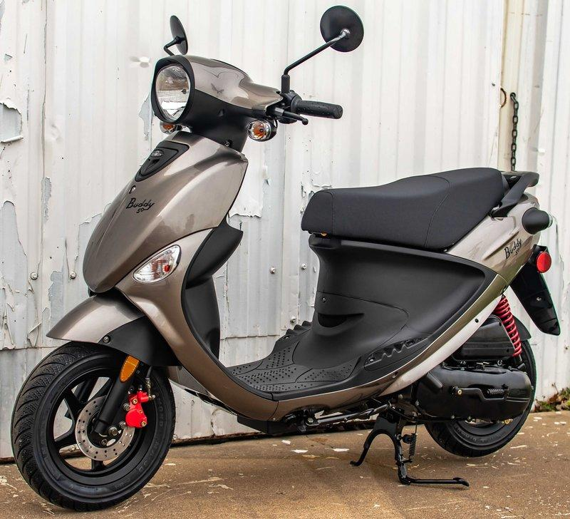 2017 Genuine Scooters Buddy 50 / 125 / 170i