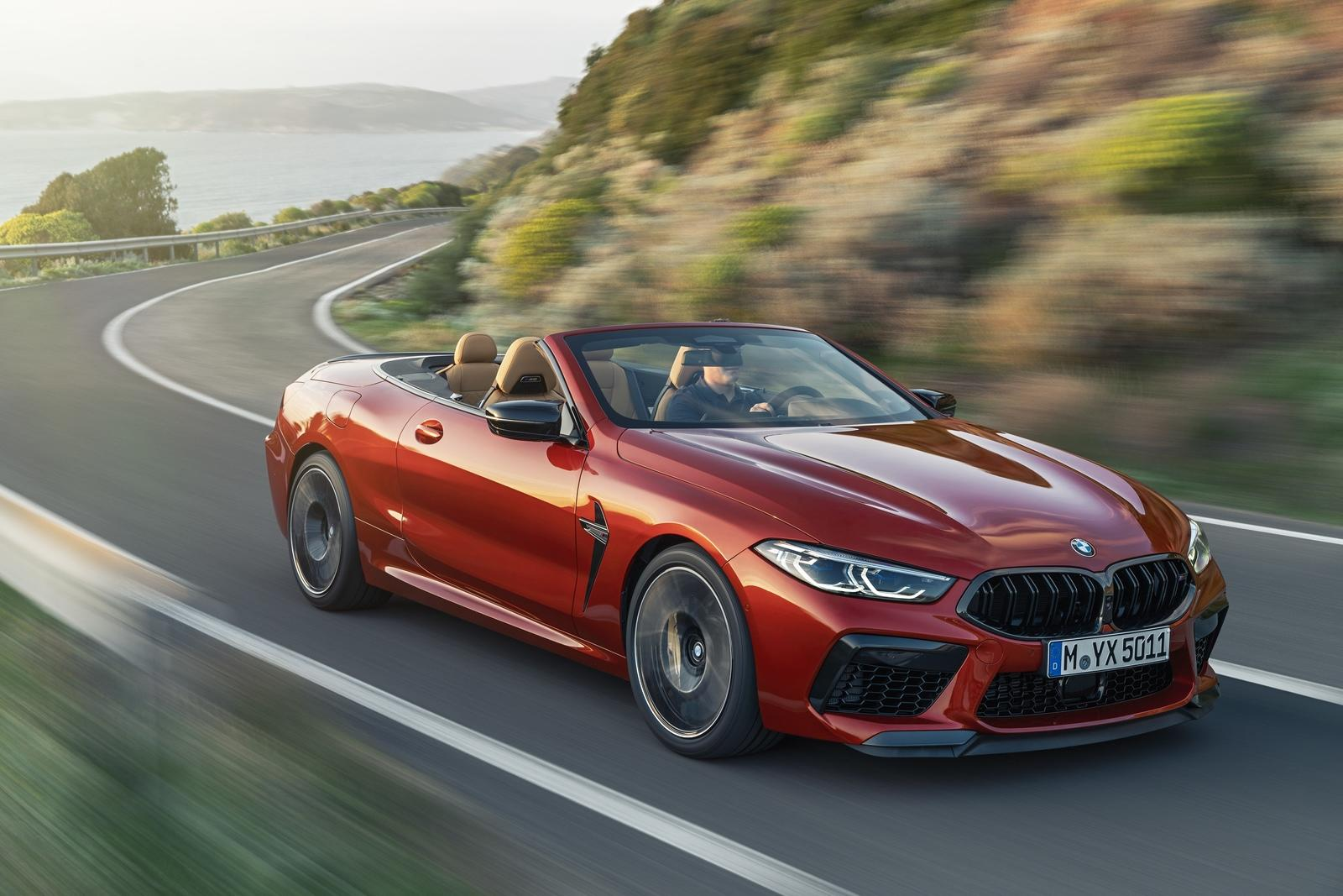 2020 Bmw M8 Convertible Pictures Photos Wallpapers
