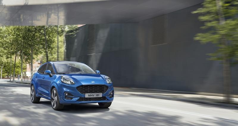 2020 Ford Puma crossover is here to steal the Nissan Juke's thunder
