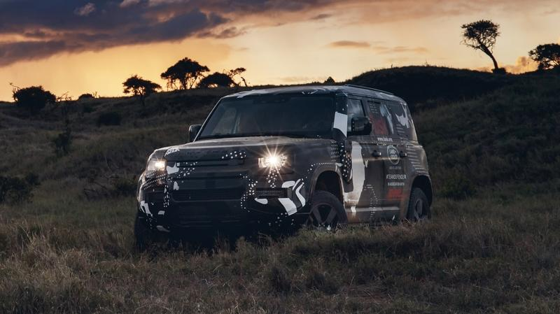 2020 Land Rover Defender reveals a bit more skin in new photos and video