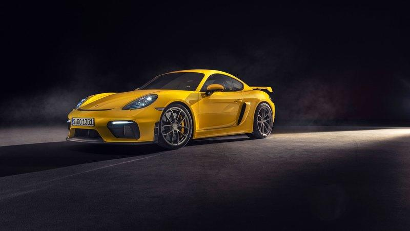 Wallpaper of the Day: 2020 Porsche 718 Cayman GT4
