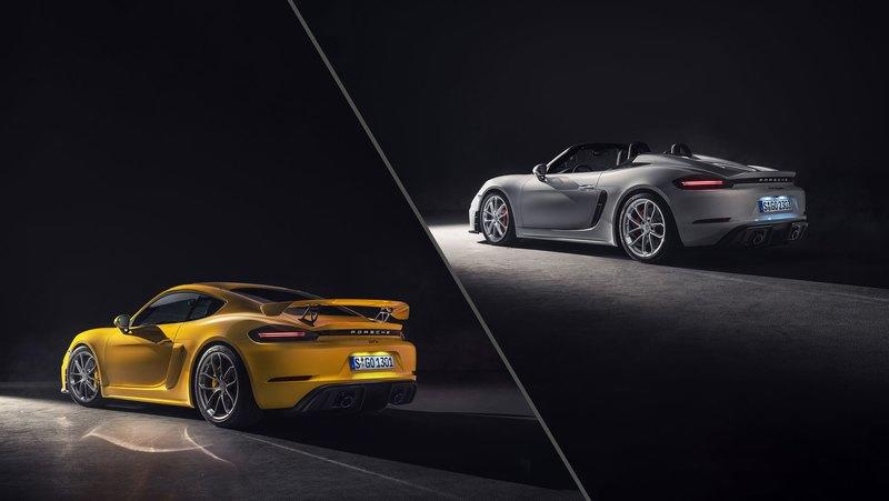 2020 Porsche 718 GT4 and 2020 Porsche 718 Spyder Quirks and Features