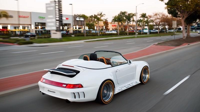 A $50,000 Windshield Isn't the Only Outrageously Expensive Part on this One-Off Porsche 911 (993) Speedster - image 846592
