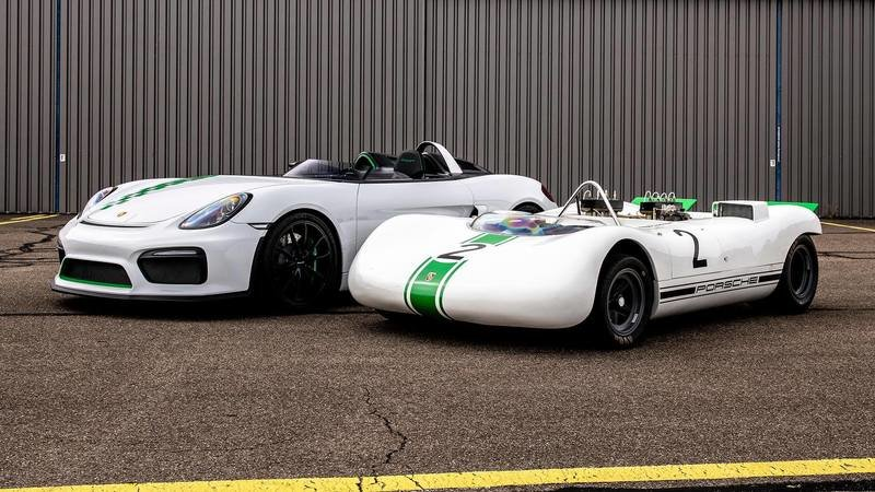 A Roofless Porsche Cayman Is Here To Remind You Of The Bergspyder, a 847-pound racer