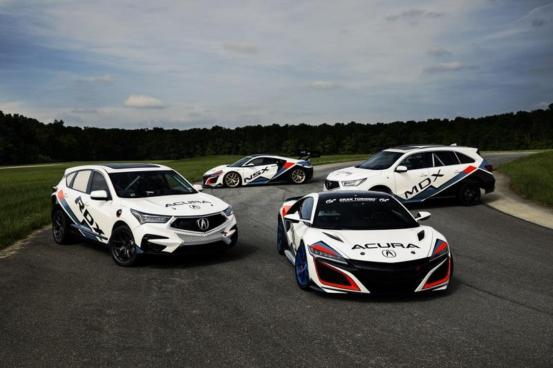 Acura Has One Hell of a Line up for the 2019 Pikes Peak Hill Climb