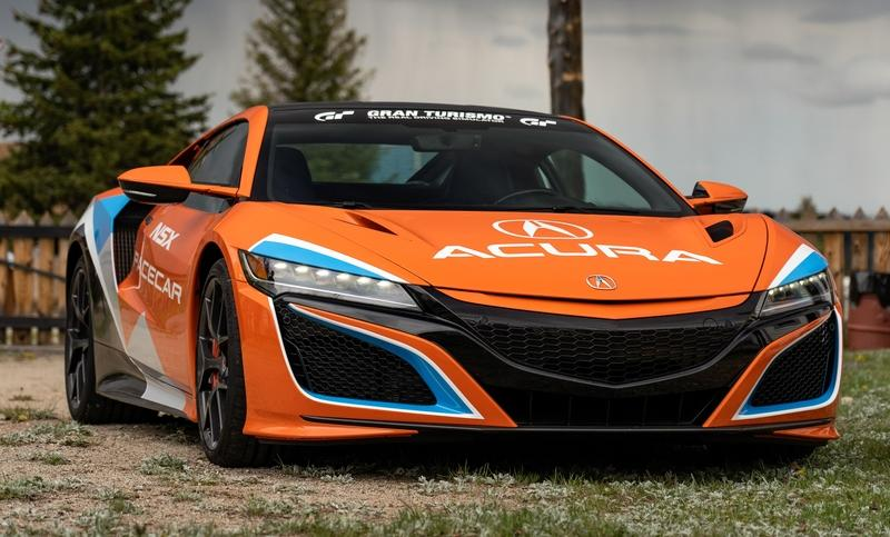 2019 Acura Nsx Pikes Peak Pace Car Top Speed