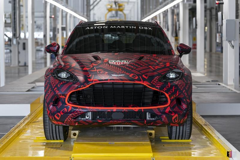 Aston Martin DBX to be built at St Athan