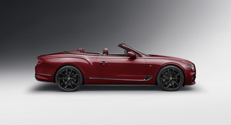 2019 Bentley Continental GT Convertible Number 1 Edition