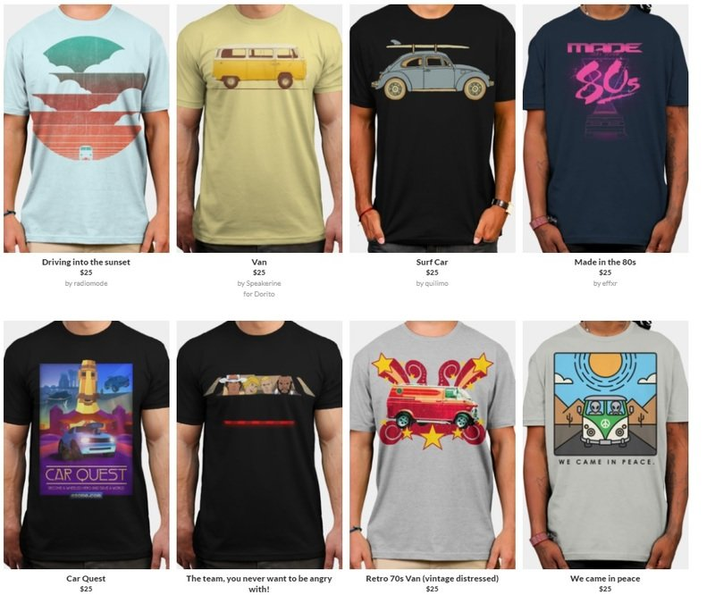 Best Car T-Shirts And Where To Find Them