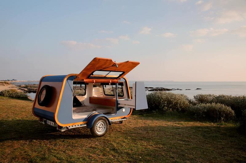 Carapate Is Your Affordable Camper Trailer Made In France
