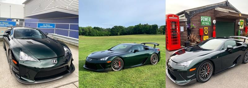 Doing a Lawn Job in a Lexus LFA? Sure; Why Not?