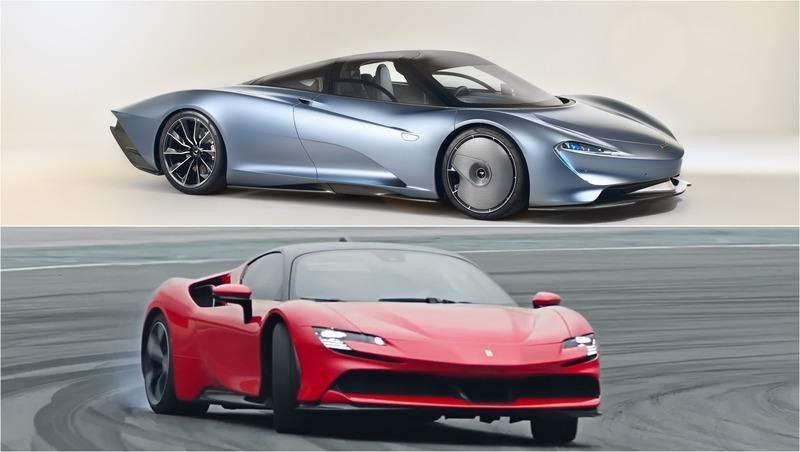 Ferrari SF90 Stradale vs McLaren Speedtail