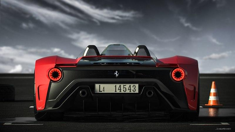 Ferrari Should Hire the Person That Designed This 2019 Ferrari Aliante Barchetta - image 843797