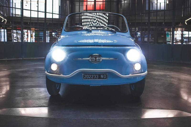 Fiat 500 Jolly Icon-E by Garage Italia