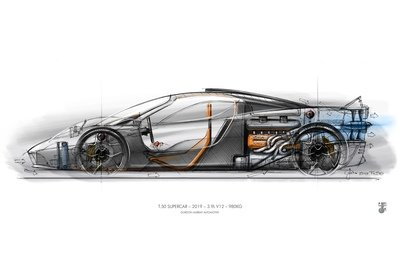 Gordon Murray Plans To Race His New Supercar In The 24 Hours of Le Mans