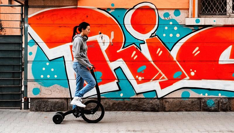 Halfbike 3 Lets You Dance While Riding, Sort Of